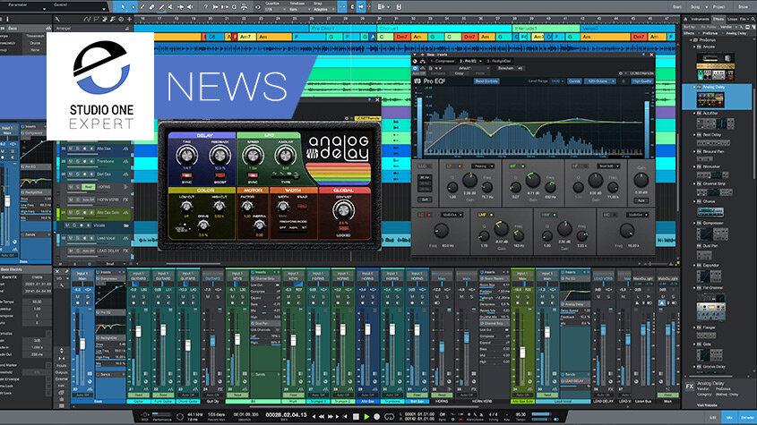 PreSonus Studio One Artist VST AU Rewire Support