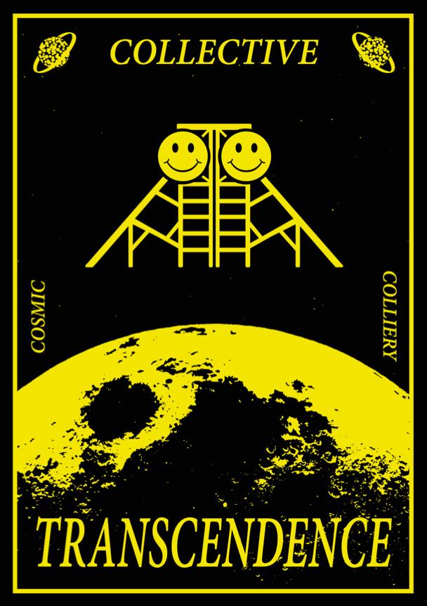 Penallta Colliery Acid House Festival poster.