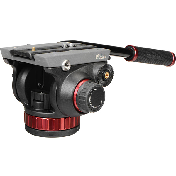 Manfrotto Fluid Video Head 502 (2 available)  Day:20$   Week:60  $