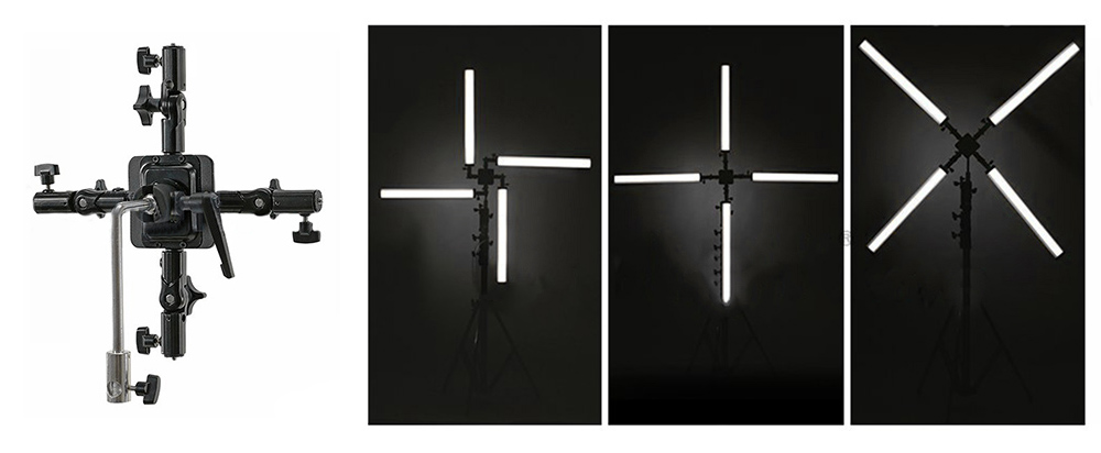 CineLight Cross mounting bracket for TubeLED  Day:5$   Week:15  $