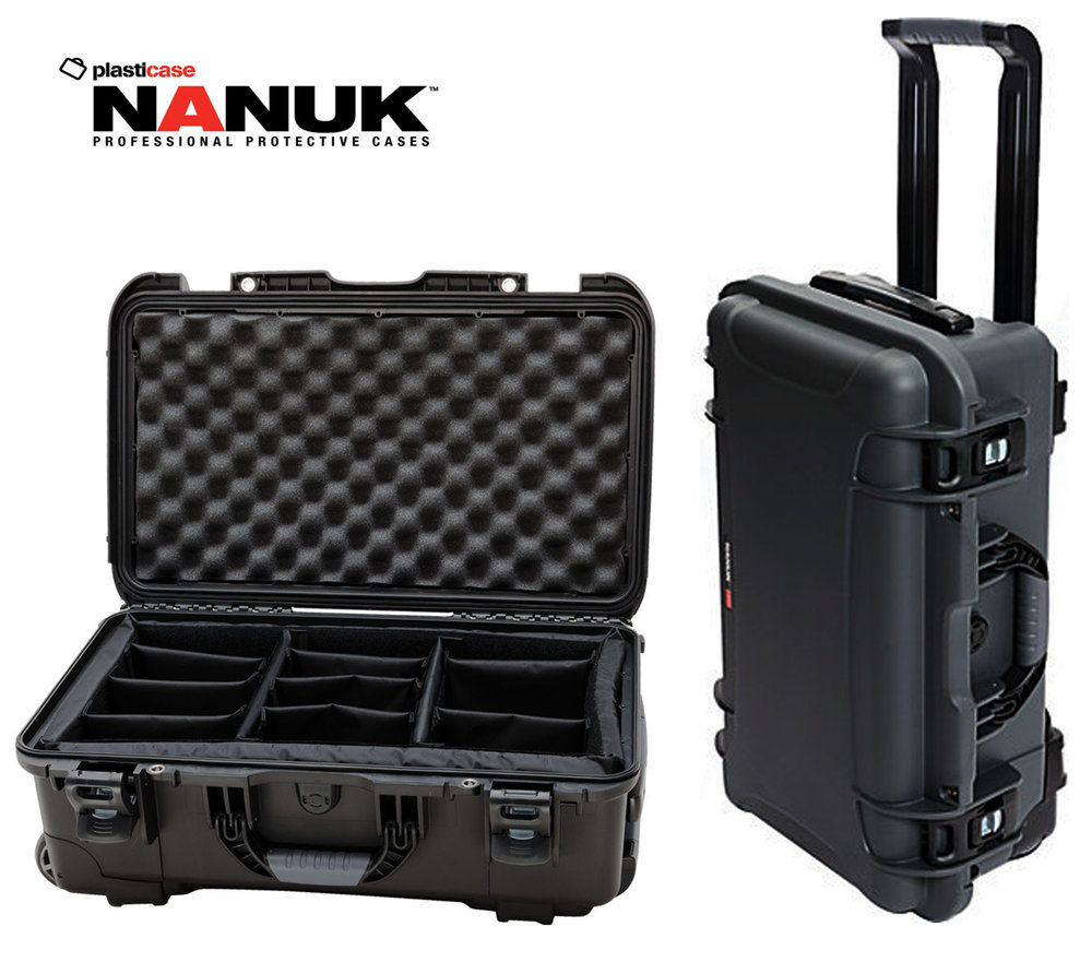 Nanuk 935 wheels carry-on  Day:20$   Week:60  $