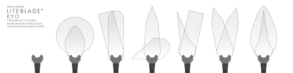 Patent Pending Liteblade Kyo system