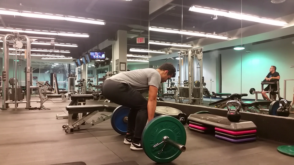 Conventional Barbell Deadlift (Back) 3