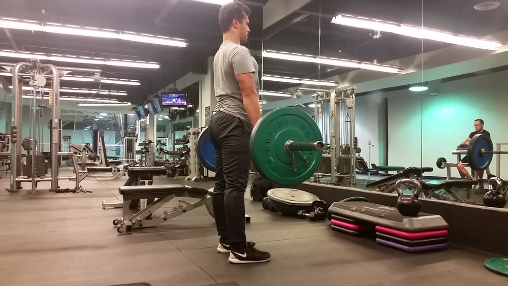 Conventional Barbell Deadlift (Back) 4