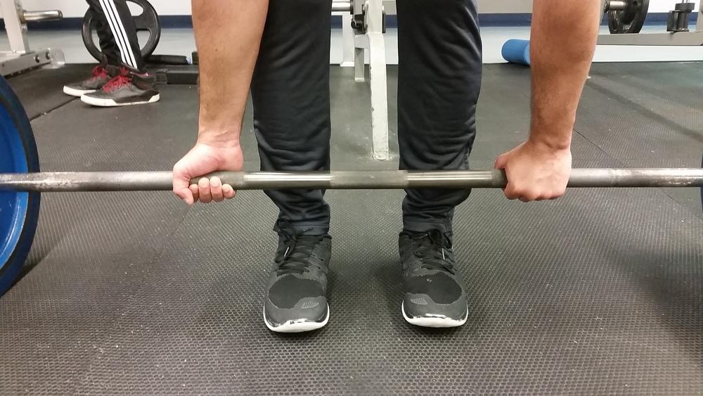 Barbell Deadlift Mixed Grip 1