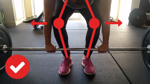 Barbell Deadlift Knees Caving Out