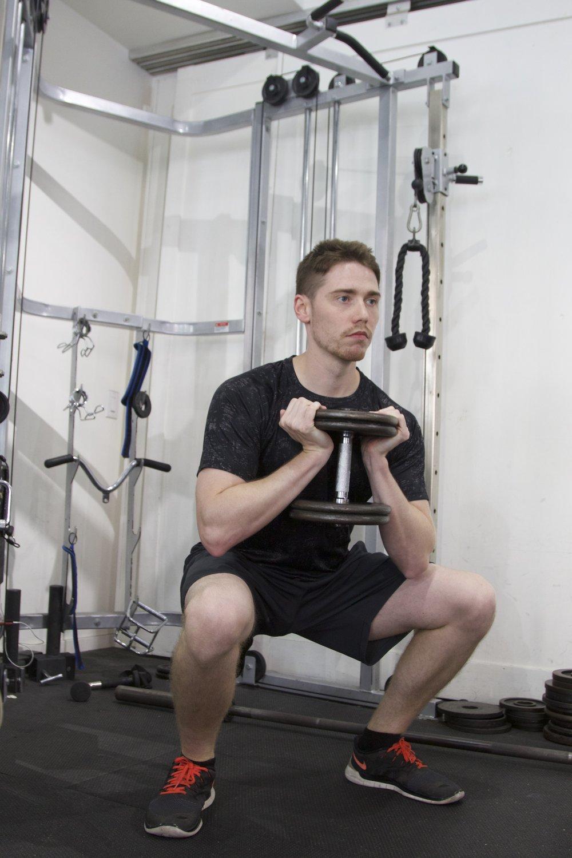 Personal Trainer Brian Squat