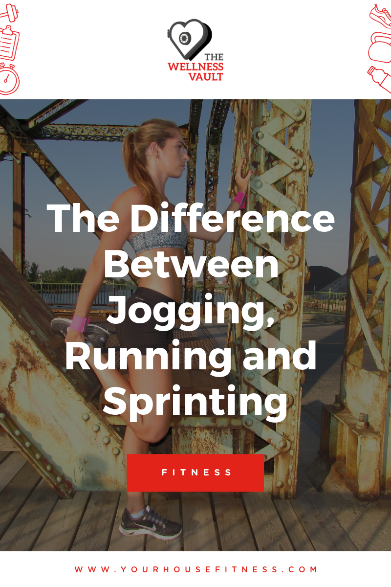 The Difference Between Jogging, Running and Sprinting