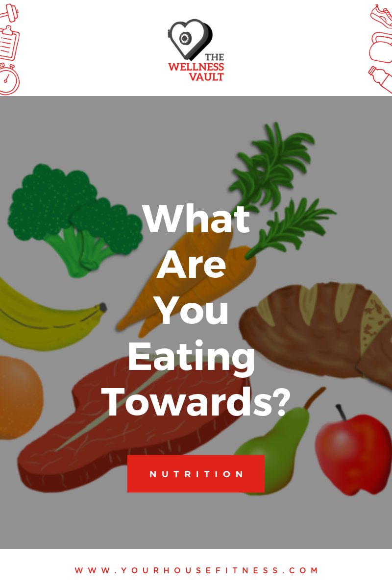 What Are You Eating Towards?