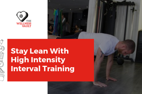 Stay Lean with High Intensity Interval Training!