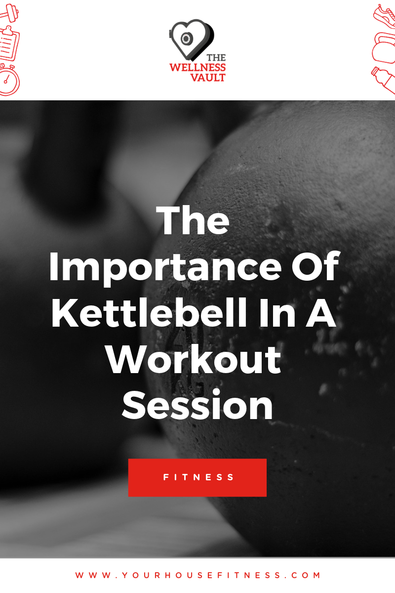 Kettlebell In A Workout Session