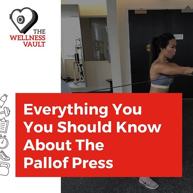 Happy Monday! Link in bio! - The Pallof press is one of the lesser known pressing motions that we encounter when talking about resistance training and it's certainly one that very few of us have nailed down as one of our staples alongside bench, deadlift and squat. Learn why the Pallof press is one of the best core exercises to do. - Thanks for amazing pictures @soulmatefit - #coreworkout #core #abs #fitness #monday #toronto #wellness