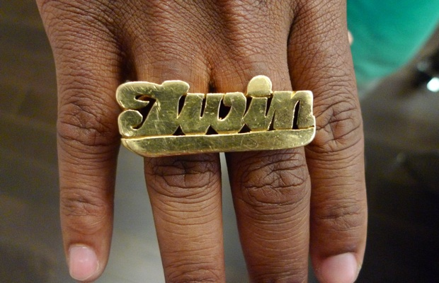 Dee Jackson  of   Dee + Ricky   rocks this ring.   (Found on   Complex  )