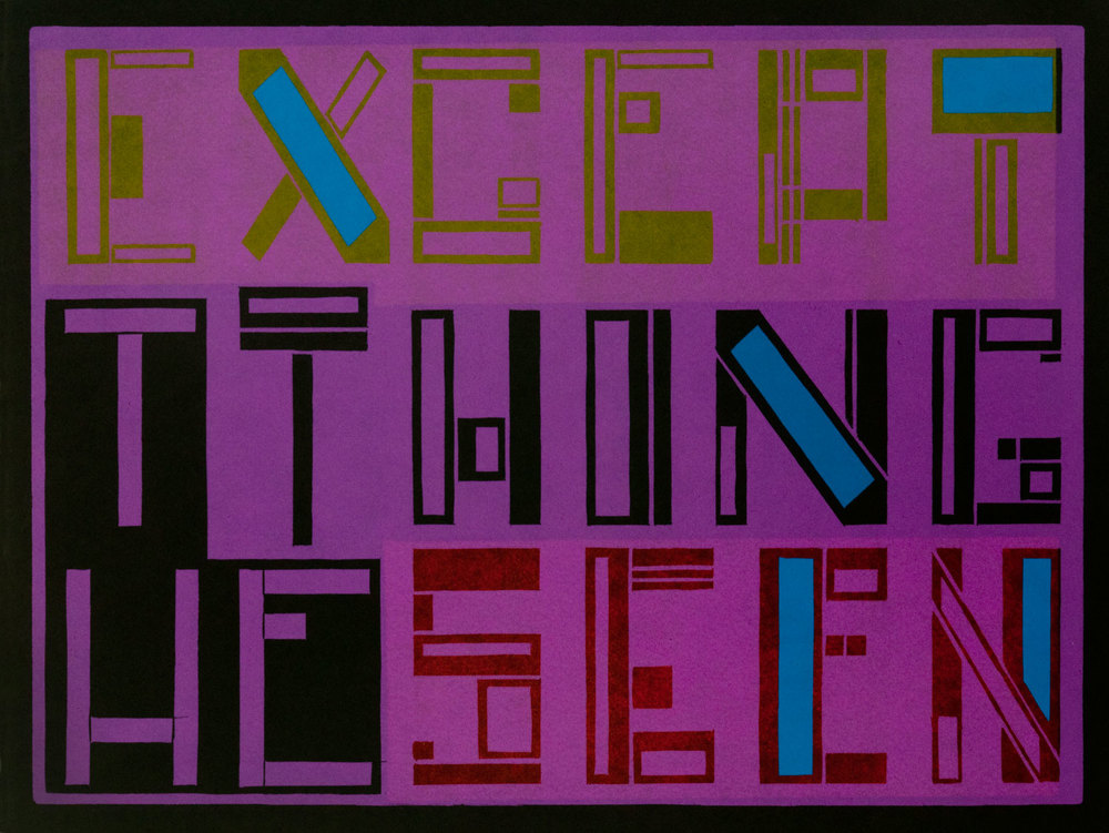 Except (the thing seen) 4