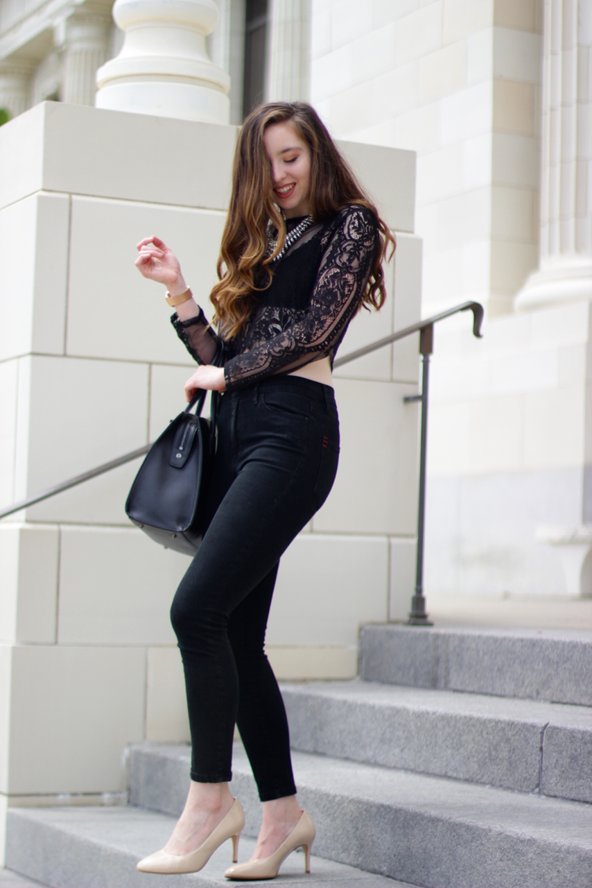 THE PERFECT OUTFIT - IN BLACK LACE