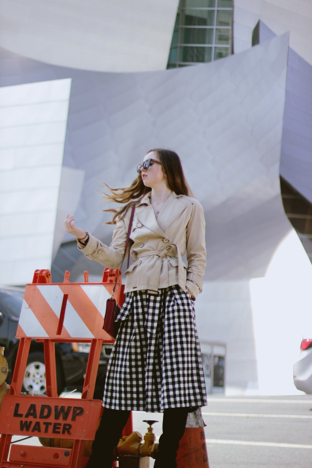 GINGHAM GIRL - IN THE CITY WITH CHICWISH FOR FALL FASHION