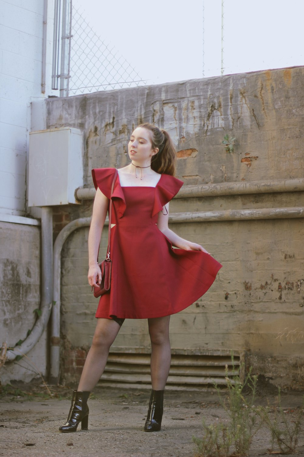 OCTOBER FRILLS IN ROMANTIC NEW DRESSES FROM CHICWISH -