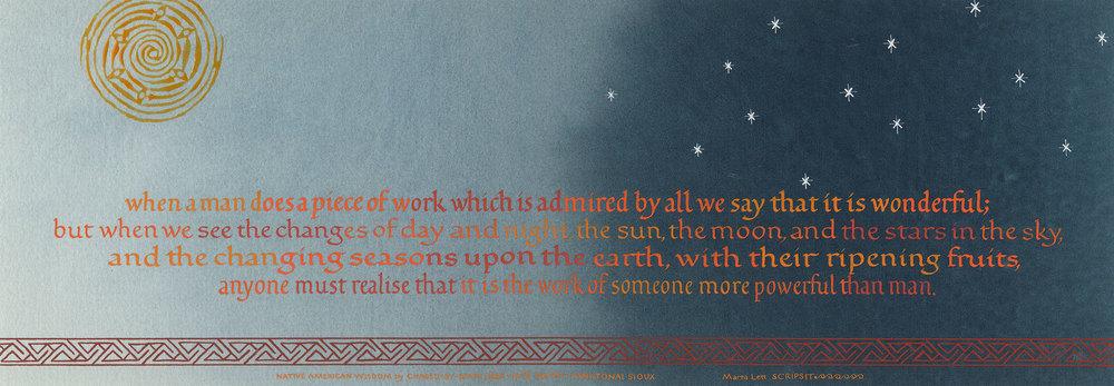 Sioux Wisdom
