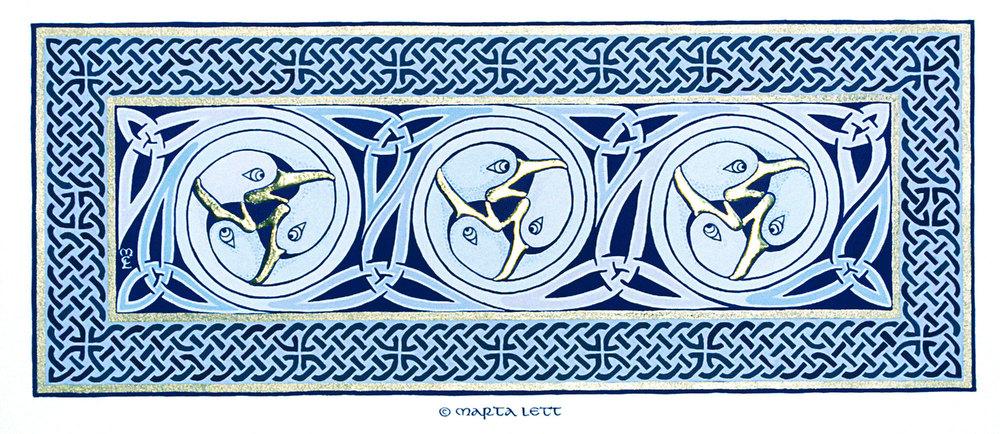 Squabbling Gulls Triptych