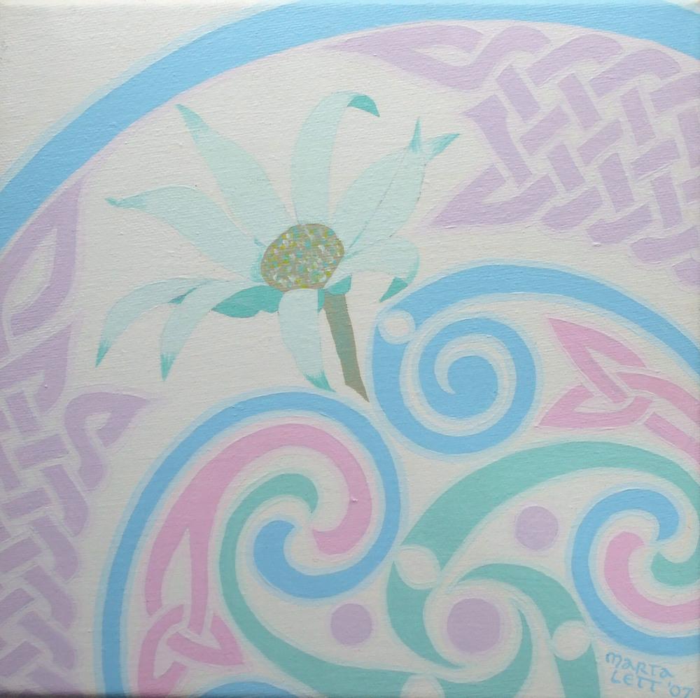 Flannel Flower, detail