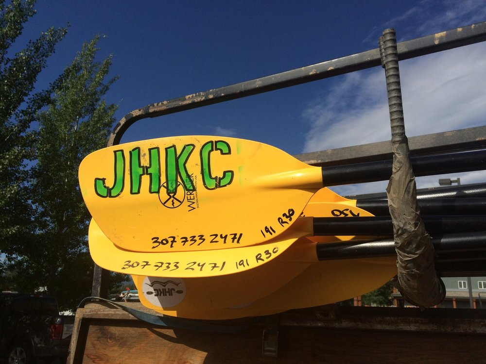 Blue skis and cold water all summer long for the JHKC
