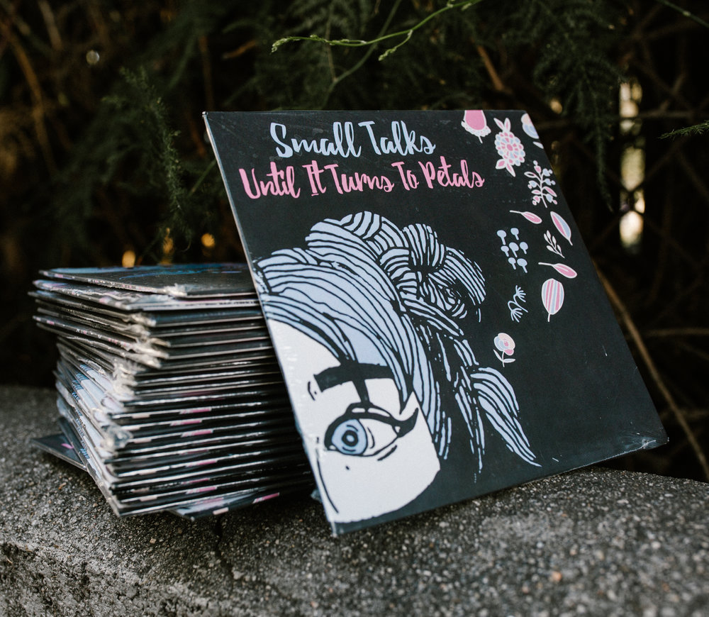 SMALL TALKS 'UNTIL IT TURNS TO PETALS' CD - $5