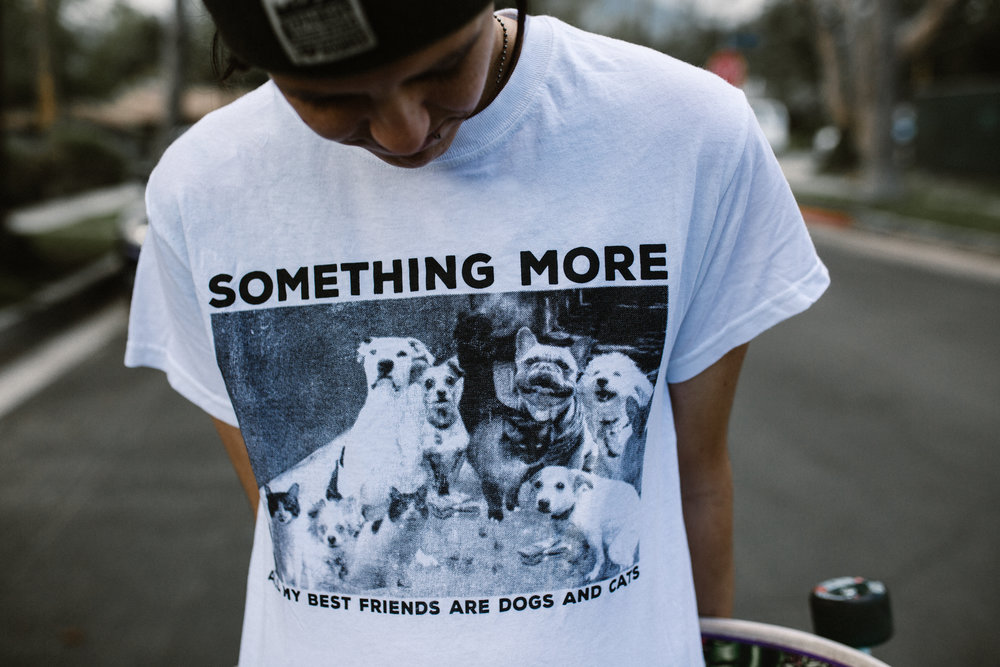 SOMETHING MORE ALL MY BEST FRIENDS ARE DOGS AND CATS TEE - $20