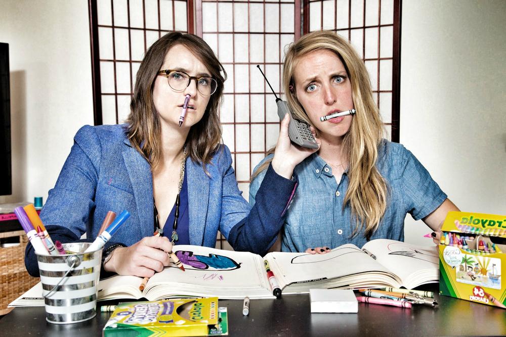 Sarah and Allie