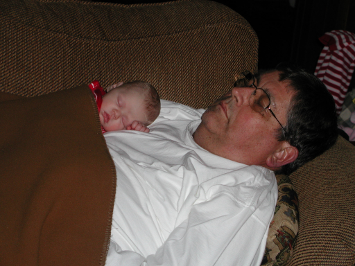 Napping with Grandpa, 2004
