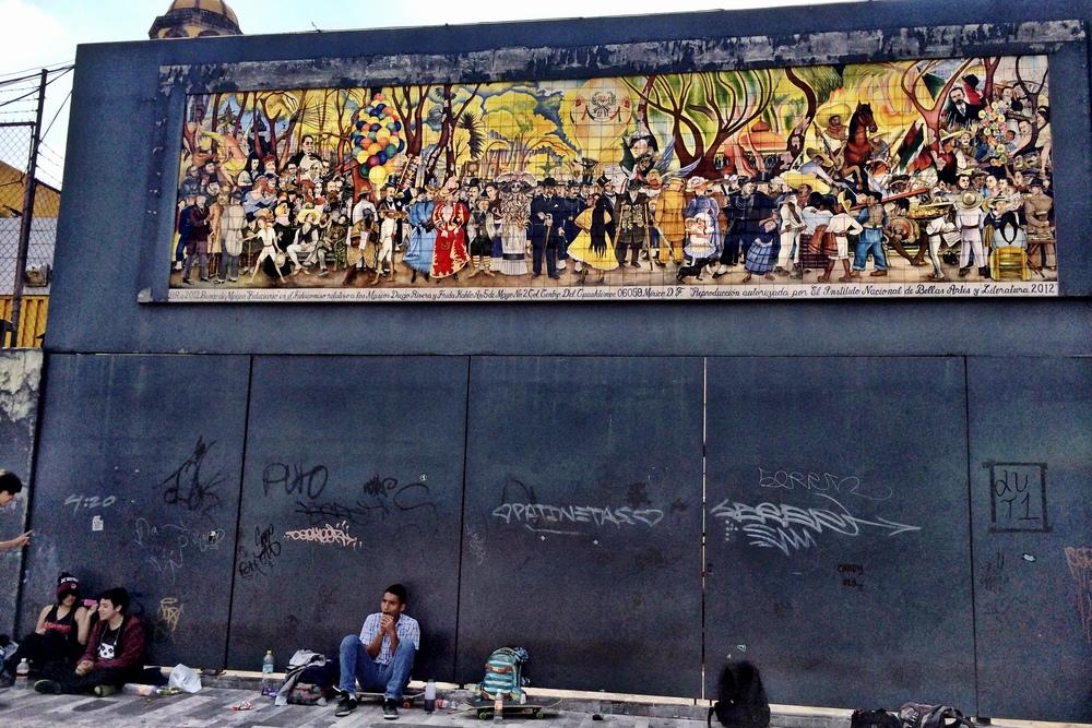 Diego Rivera's:Sueño de una tarde de domingo