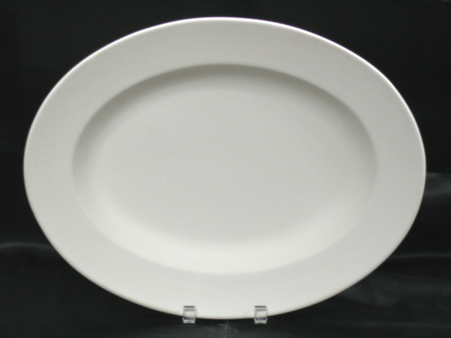 Oval Rim Platter