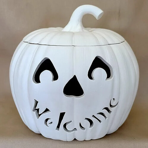 large pumpkin custom cut out 9 dia the pottery piazza