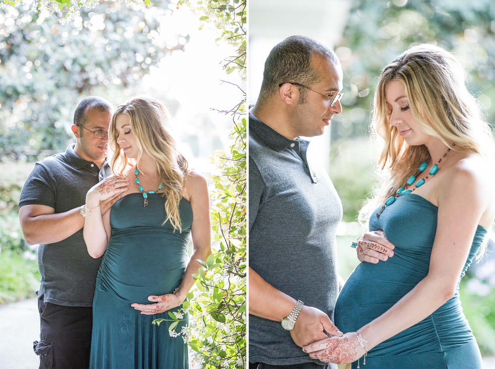 Expecting mother and father to be portrait session