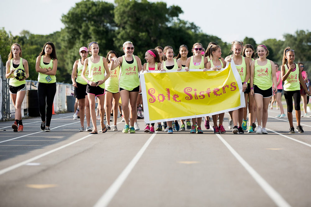 A picture of Sole Sisters team