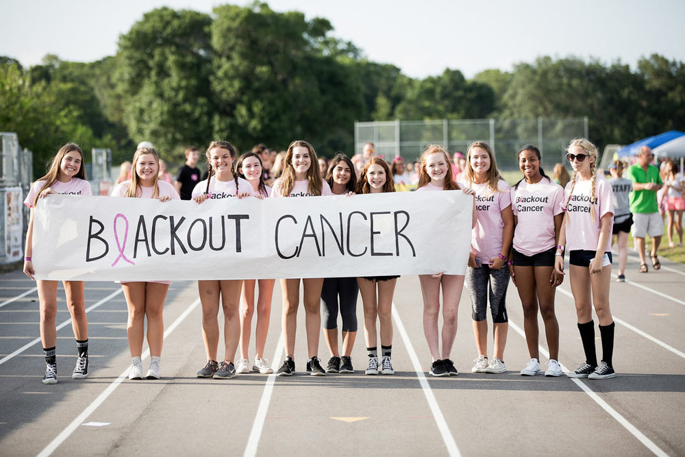 Blackout cancer team in Westchase