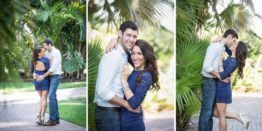 Pictures of an engaged couple