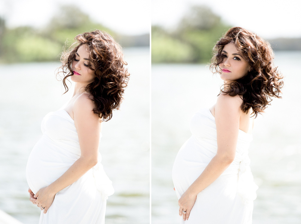 Fashion styled maternity pictures