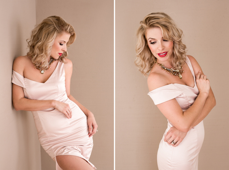 Sexy glamour portraits of Jenn