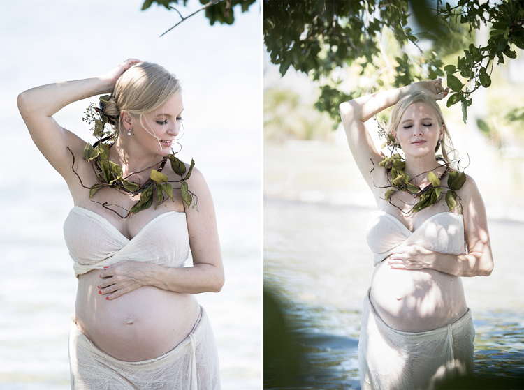 Bump photos of gorgeous woman surrounded by nature