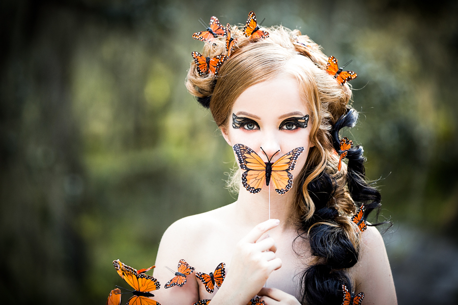 Final image from the butterfly shoot