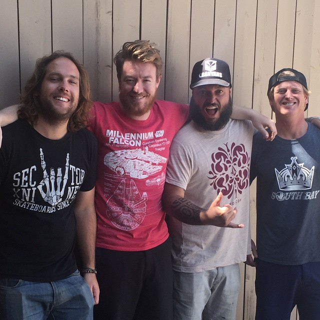 Mike and Jeff sit down with pro surfer and @bodyglove53 Surf Team Manager Cheyne Magnusson (@redtide83) and @yesodwilliams from @pepperlive. The guys talk surf videos, 90's punk rock, and the #SpyderSurfFest, where Jeff's band @losecontrol played. Go to www.anothertake.net to listen.