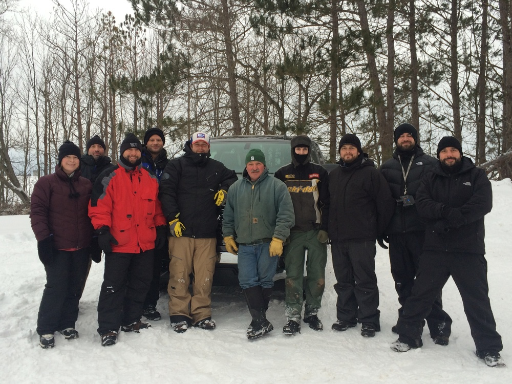 <strong>Agency 720 and Black sedan crew brave Michigan winter for Chevy</strong>