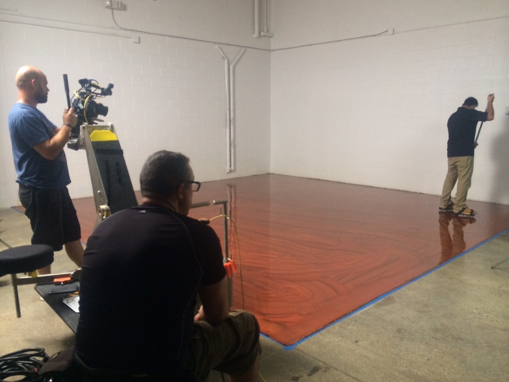 <strong>It's like watching paint dry, literally in this exciting how to video shoot for Simiron coatings</strong>