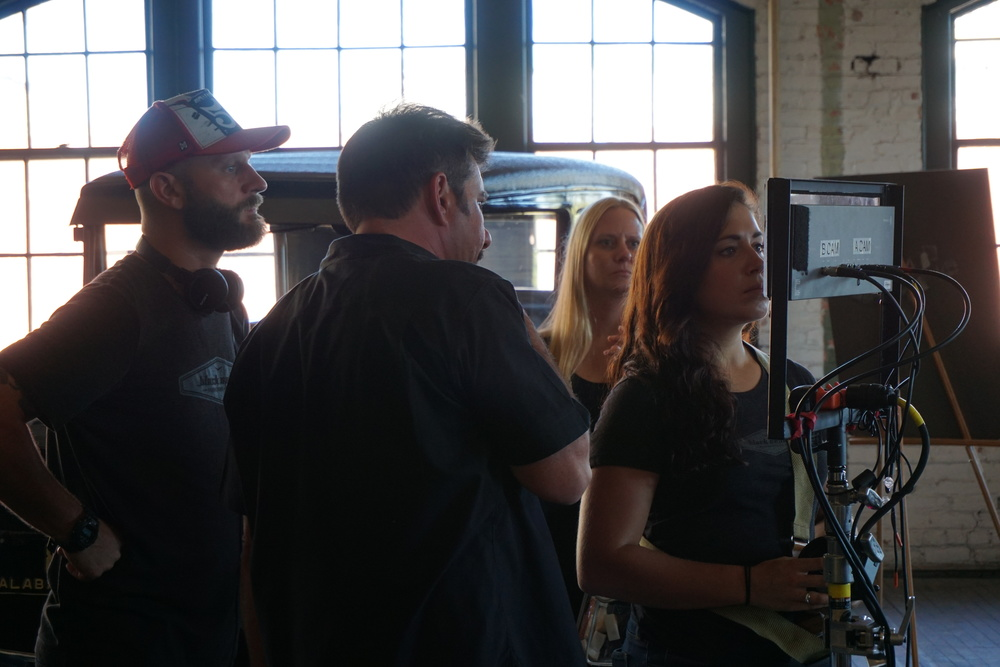 <strong>On location at Ford Piquette Plant in Detroit</strong>