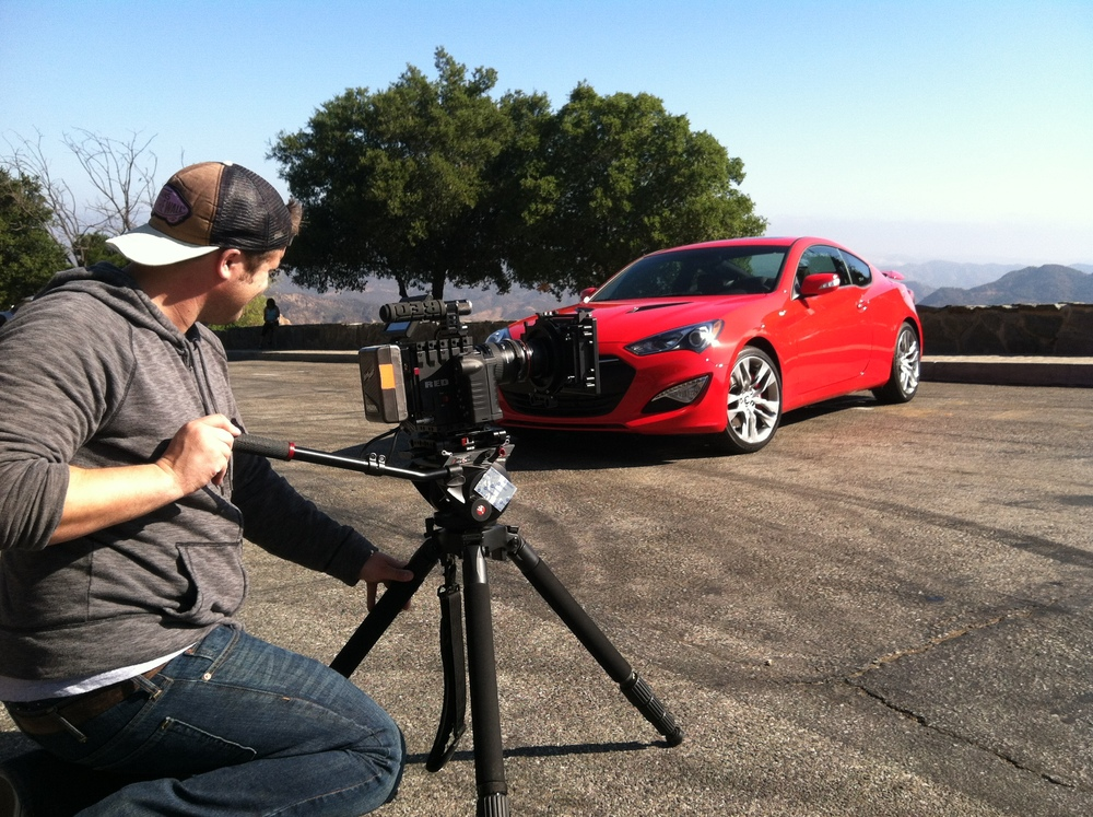 <strong>On location for Hyundai</strong>