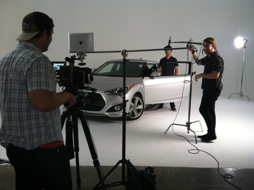 <strong>Studio shoot for Hyundai in LA</strong>