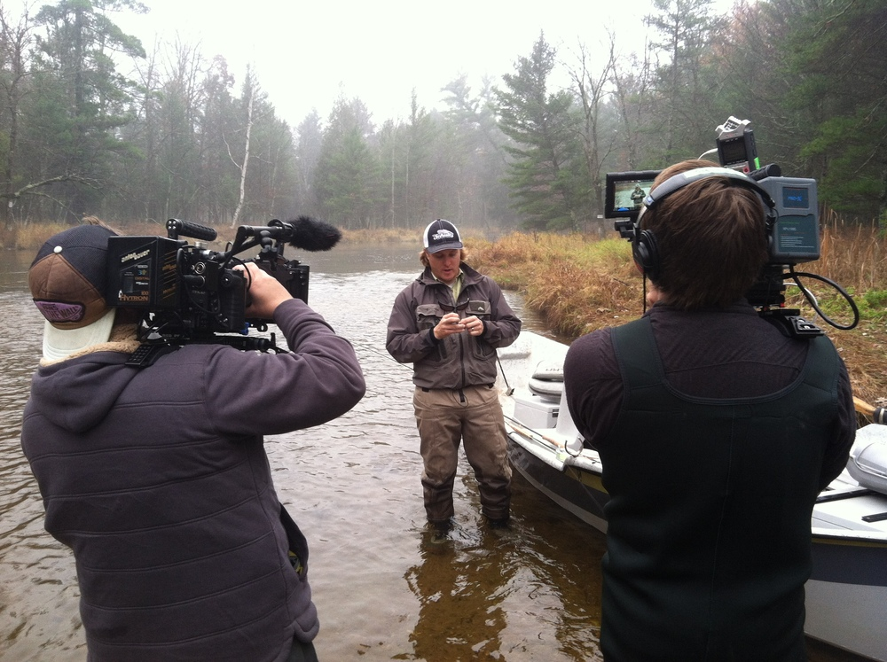 <strong>Shooting Pure Michigan in the middle of the Peer Marquette river in Michigan</strong>