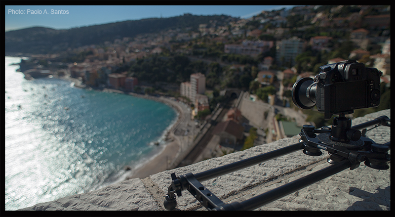 Looking over Villefranche in the French Riviera.