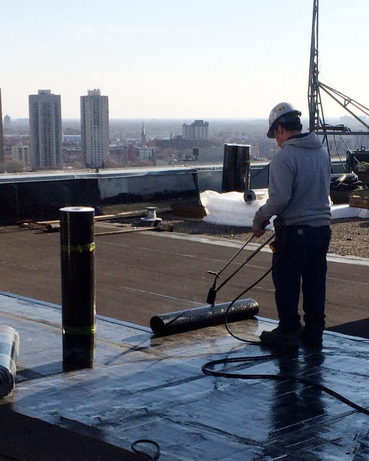 Replacements - MJ Roofing specializes in the installation and replacement of flat roofing systems, offering an industry leading warranty. We offer both full or partial replacements, leveraging Manitoba Hydro rebates where advantageous.• Modified Bitumen• Asphalt and Gravel• Single Ply (EPDM and TPO)• Metal