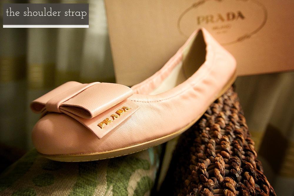 Prada Ballerina Flats